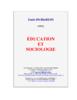 Education et sociologie - URL
